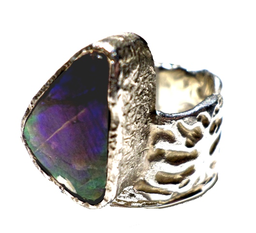 Rings : Ammolite Ring