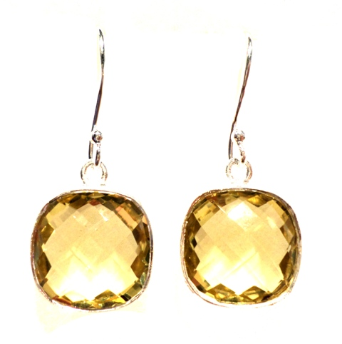 item gold citrine engagement drop semi for yellow solid mount rose new pear sale diamond earrings